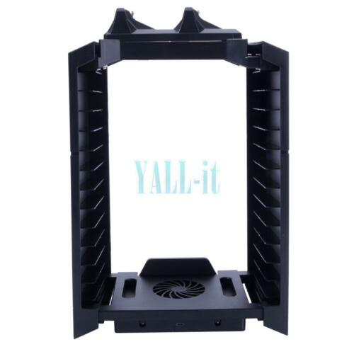 Vertical Storage Stand Charging Dock Station For Ps4 Ps3 ...