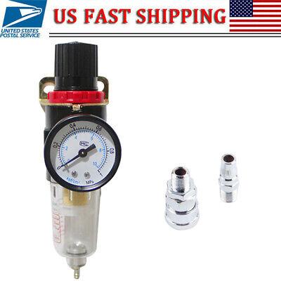 Afr2000 14 Air Compressor Filter Water Separator Trap Tools Kit Regulator