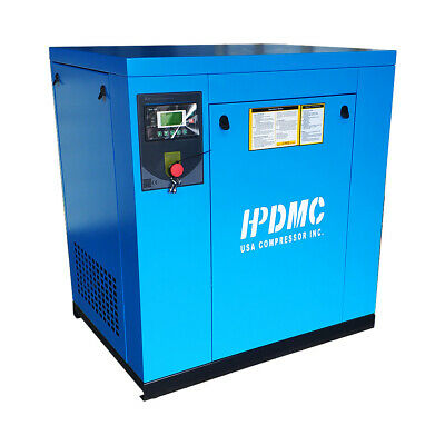 15hp11kw 57cfm Rotary Screw Air Compressor 230v 150psi 3 Phase Npt Outlet G34