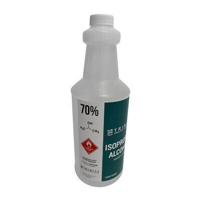 Isopropyl Alcohol 70 - 1 Quart - Premium Quality - Fast Shipping