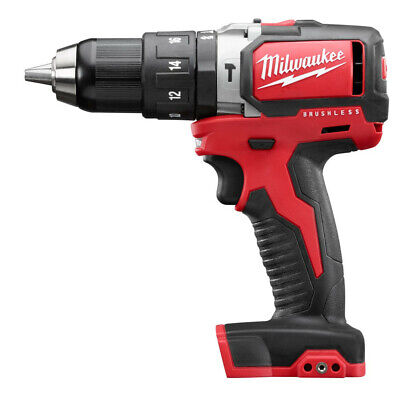Milwaukee M18 12 In. Li-ion Hammer Drill Driver Tool Only 2702-80 Recon