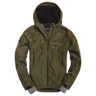NWT Superdry Superdry's Elite Windcheater jacket Windbreaker Army MILITARY 2xl