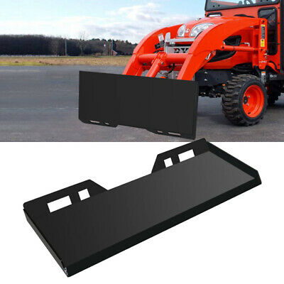 516inch Skid Steer Mount Plate Loader Quick Tach Attachment For Kubota Bobcat