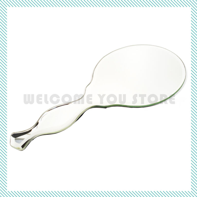 Frameless Hand Mirror Beveled Edge Home Decoration Handmade TYPE-B