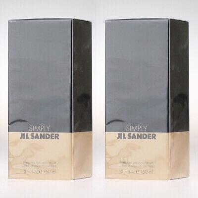 Jil Sander Simply - Shower Cream 150ml - 2x