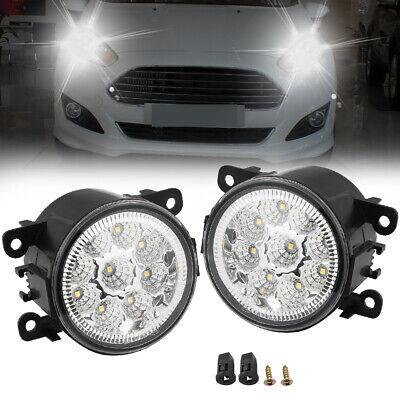 2PCS 55W 9 LED Fog Light Lamp For Ford Explorer Focus Fusion Mustang 4F9Z15200AA