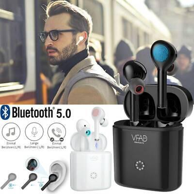 TWS Wireless Bluetooth 5.0 Kopfhörer Ohrhörer Touch Earbuds Headset Für