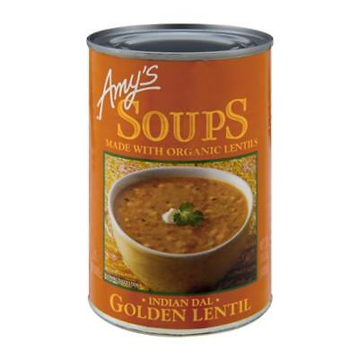 Amy's-Indian Lentil Golden Soup (12-14.4 oz cans)