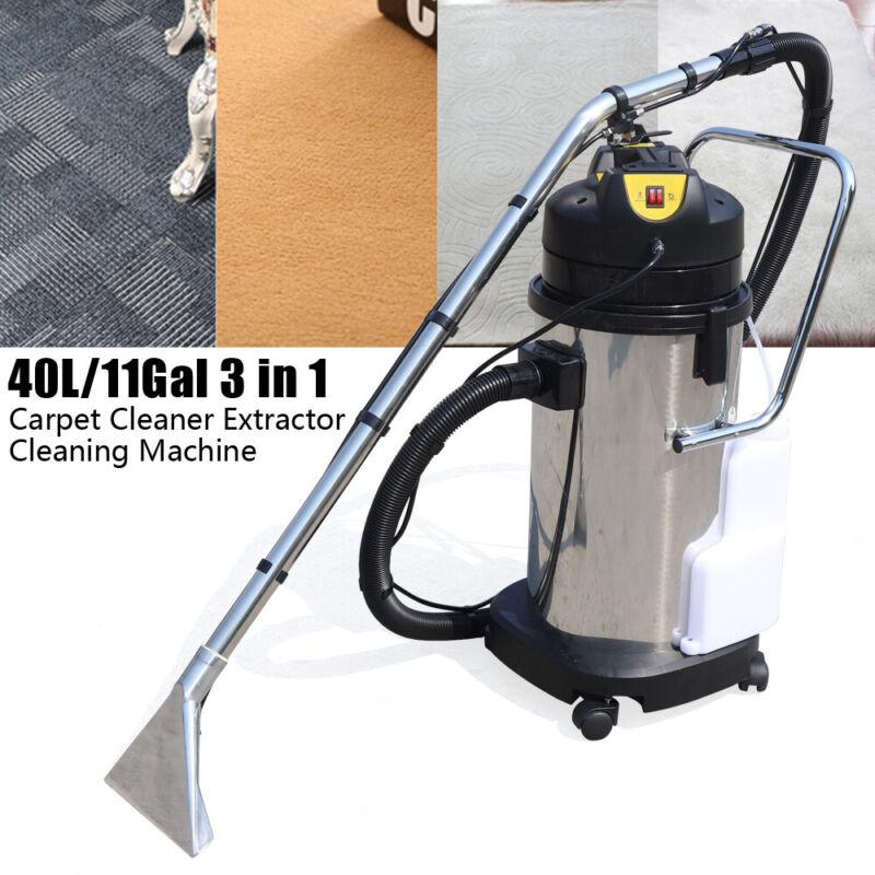 40L Cleaning Machine 3in1 Carpet Curtain Sofa Vacuum Cleaner Dust Extractor 110V