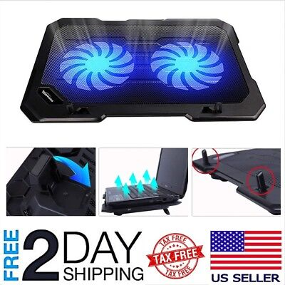 Laptop Cooling Pad Cooler Stand Coolpad Fan Mat External 15 inch Notebook USB 15 Inch Notebook Cooling Pad