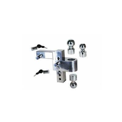 Uriah Alumatow Adjustable Aluminum Tow Truck Trailer Hitch Mount 6 Drop Used