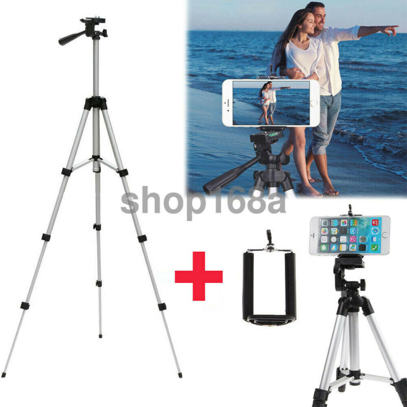 "41"" Camera Tripod Stand Holder Mount Professional for iPhone/Samsung Cell Phone"