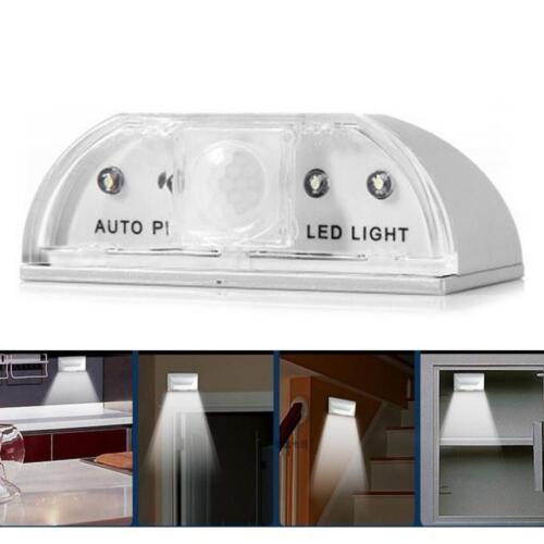 Auto Wireless LED Light PIR IR Auto Motion Sensor Detector Door Keyhole Key Lamp