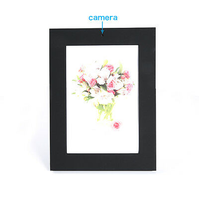 Home Surveillance Photo Frame Spy DVR Video Camera Recorder Hidden Camcorder