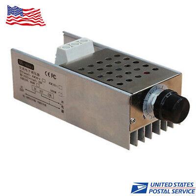 Ac110-220v 10000w Voltage Regulator Motor Speed Controller Dimmer Thermostat