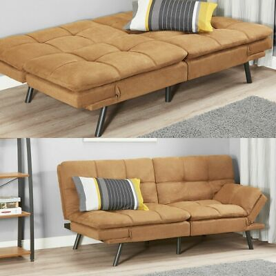 Memory Foam Futon Sofa Bed Couch Sleeper Convertible Foldable Loveseat FULL Size Foam Sofa Bed