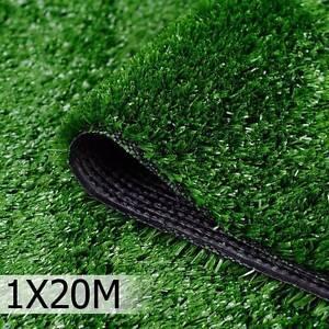 Artificial Grass 20 SQM Polypropylene Lawn Flooring 1X20M Olive Kings Beach Caloundra Area Preview
