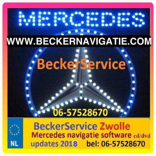≥ MERCEDES Navigatie Update 2018 CD s DVD Comand Audio 50 APS