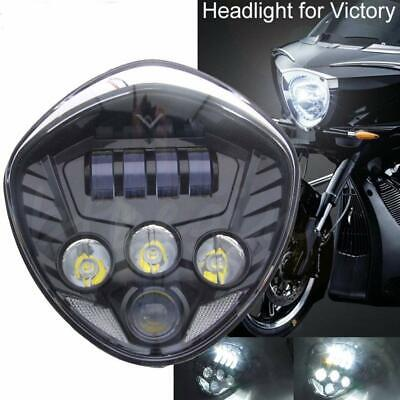 LED MOTORCYCLE HEADLIGHT ASSEMBLY FOR <em>VICTORY</em> CROSS COUNTRY MAGNUM HAM