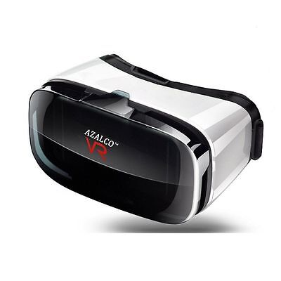 AZALCO High Definition Virtual Reality Headset 3D Glasses for Android ()