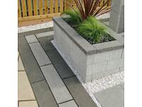 Marshalls Argent textured copings