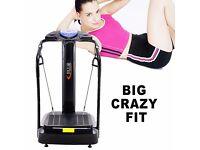 SALE!! CRAZY FIT Oscillating VIBRATION Power Massage PLATE 2000W Fitness Machine