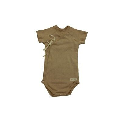100% Organic Unbleached Cotton Babies Vegan Body Suit Clothing Best for Eczema