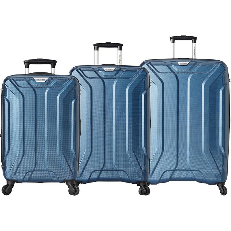 Samsonite Englewood 3 Piece Expandable Hardside Spinner Luggage Set NEW