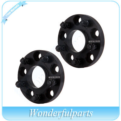 2X 20mm Hubcentric Wheel Spacers 5x4.75 5x120.7 For 1985-2016 Chevrolet Corvette