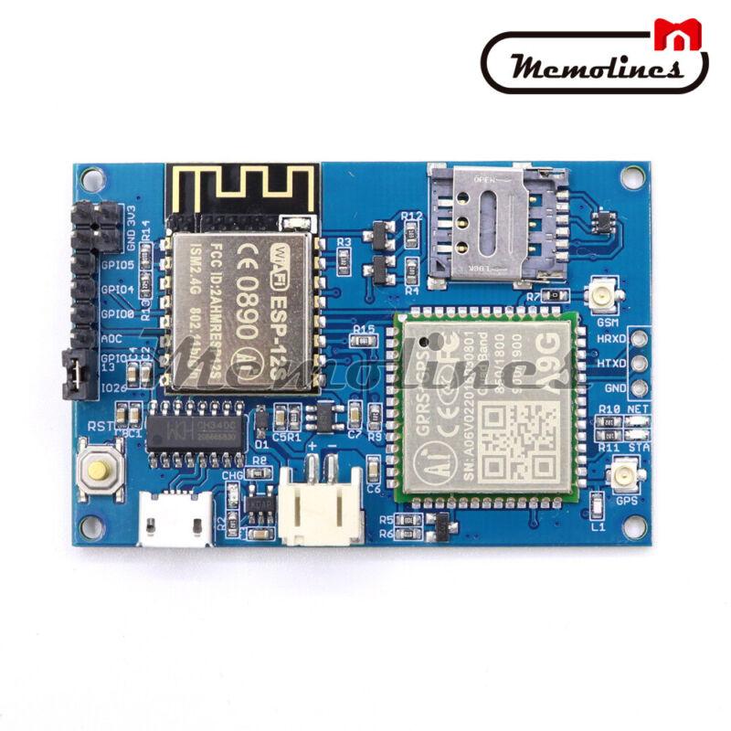 Esp8266 Esp-12s A9g Gsm Sms Gprs + Gps Iot Node V1.0 Cellular Development Board