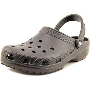 727ab4b52fbb Crocs Classic Men US 11 Black Clogs Blemish 18612 for sale online