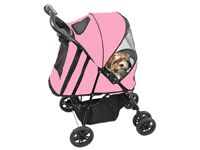 Pet Gear Happy Trails Stroller Pram Pink for cats and small dogs - New with Retail Box