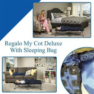 NEW Regalo My Cot Deluxe, With Sleeping Bag Condtion: New