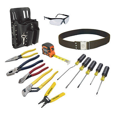 New Klein Tools 80014 14 Piece Electrician Tool Set