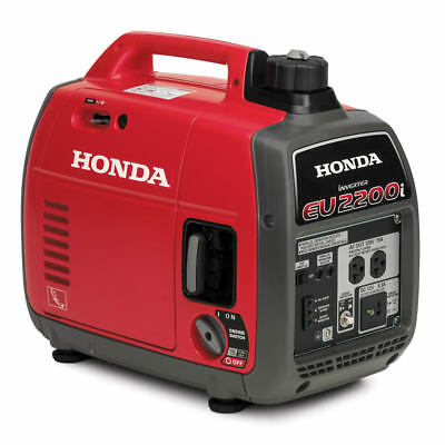 Honda Eu2200i - Super Quiet Portable Inverter Generator - Free Fast Shipping