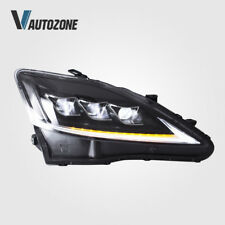 LED Headlights Fit For Lexus IS250 IS350 ISF 2006-2012 Front Lamps Assembly Set