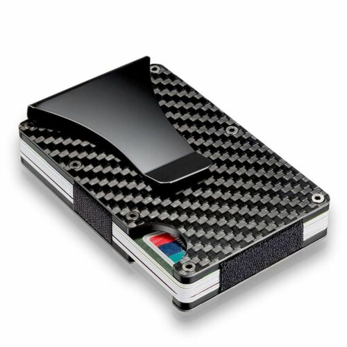 Inhaber der Kreditkarte Anti Chief Slim Wallet Geld Clip Blockierung von RFID