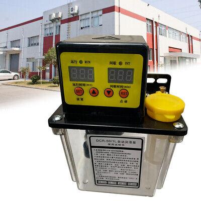 1l Automatic Lubrication Pump Dual Electric Oiler Digital Cnc Pump 1.0mpa