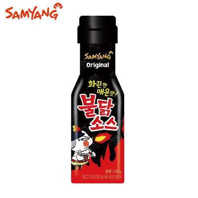 Fire Noodle Sauce 200g 7oz - Korean Spicy Hot Chicken Noodles Challenge Ramen