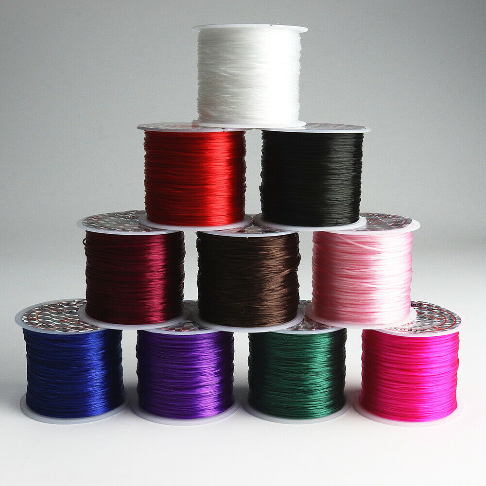 50M Strong Stretchy Elastic Crystal Thread Cord String for B