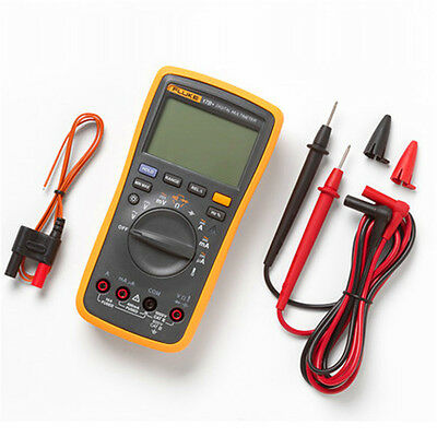 Fluke 17b F17b Auto Range Digital Multimeter Tester Dmm With Tl75 Test Leads