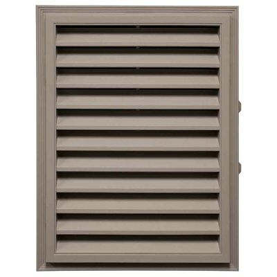 "Mid-America Vinyl Rectangle Gable Vents - 18"" x 24"" 008 Clay"