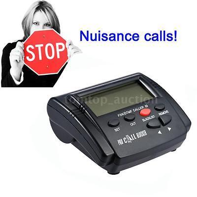CT-CID803 Caller ID Box Call Blocker Call ID LCD Screen for Fixed Telephone E0X3