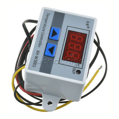 Xh-w3001 12vdc Led Digital Temperature Controller Thermostat Switch Sensor Probe