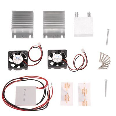 Diy Tec1-12706 Heatsink Thermoelectric Cooler Cooling Peltier Plate Module Kit