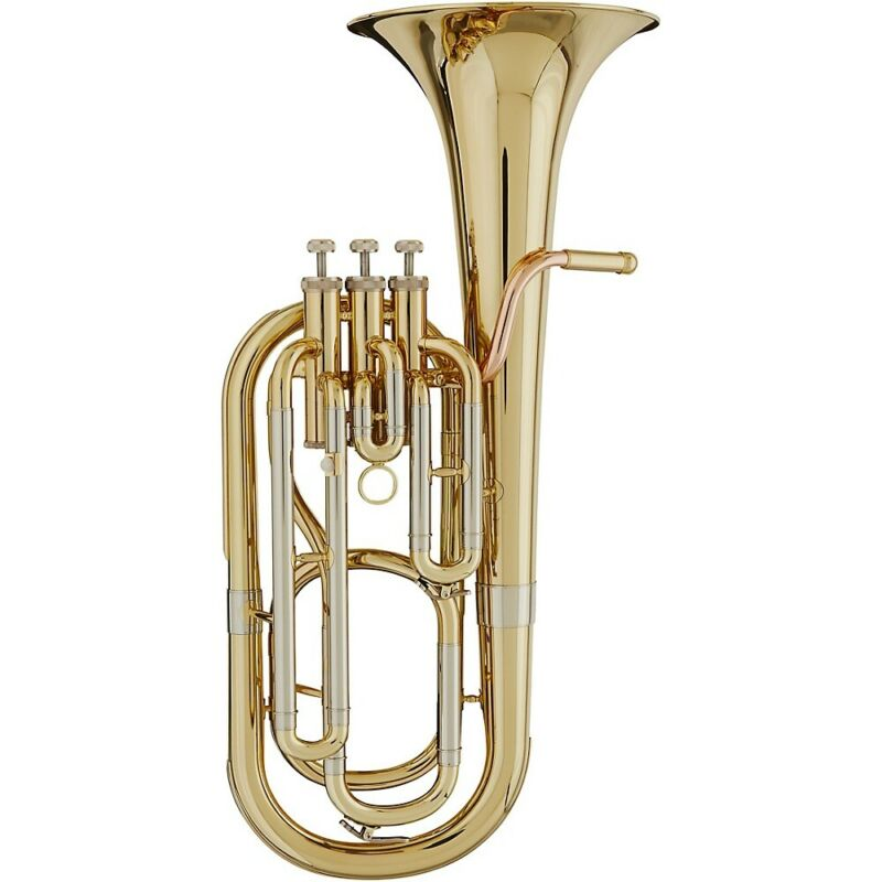 Blessing BBH-1287 Standard Series 3-Valve Bb Baritone Horn Lacquer
