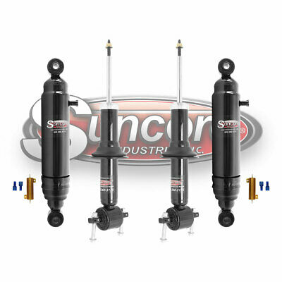 2007-2014 Cadillac Escalade Front  Rear Air Suspension Conversion Kit w/Bypass
