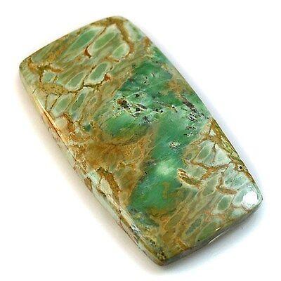 24.5Ct Natural Top Grade Variscite Stone (34mm X 18mm) Cabochon