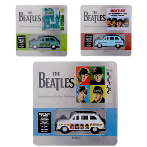 The-Beatles-Limited-Edition-Collectable-Die-Cast-Taxi-Tin-T-Shirt-Wall-Plaque