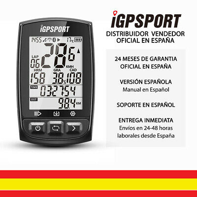 iGPSPORT iGS50E - GPS Cuentakilometros Bicicleta Barometro ANT+ IPX7 Bluetooth